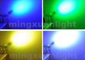 New Mini 12PCS 4in1 / 5in1 / 6in1 RGBWA LED PAR Flat pictures & photos