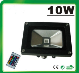 LED RGB Flood Light LED Floodlight (Remote Controller 10W) pictures & photos