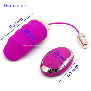 USB Rechargeable 10 Speed Control Vibrating Eggs Tongue Vibe Vibrator pictures & photos