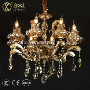 Europ Style Crystal Pendant Lamp (AQ073-8) pictures & photos