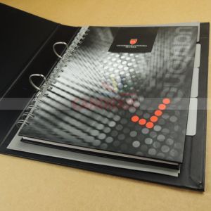 Customized Folder Notebook Set with File Folder and Notebook pictures & photos