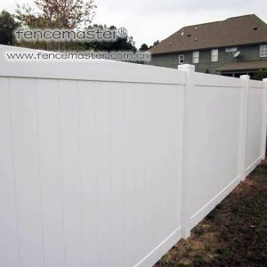 Vinyl Fencing 100% Virgin Vinyl PVC Fence pictures & photos