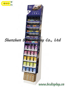 Cardboard Display Stand, Counter Display, SGS Approved Floor Display Stand, Pop Display (B&C-A062) pictures & photos