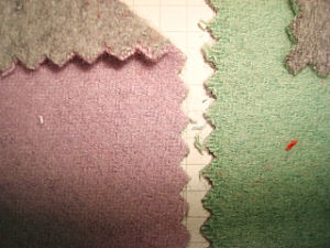 Wool Blenched Plush Knitting Fabric pictures & photos