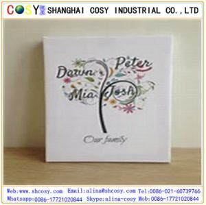 Economic Oil Cotton Canvas for Eco-Solvent Printing pictures & photos