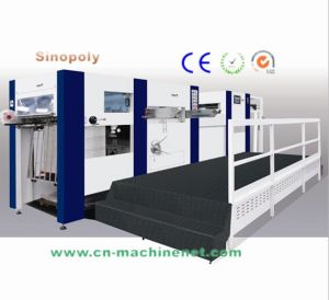 1060t Highspeed Automatic Flatbed Embossing Indentation Die Cutting Machine pictures & photos