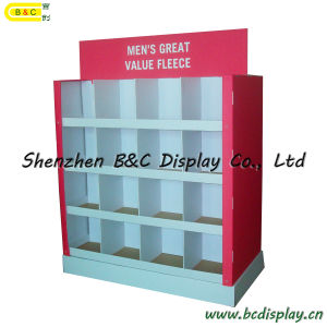 Grid Cardboard Display Stand, Paper Display Stand, Pop Display, Cardboard Furniture, Unibody Stand, Pack up Stand Shelves (B&C-A060) pictures & photos