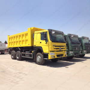 Heavy Equipment for Road Construction Sale Sinotruk HOWO 371 HP 25ton 10 Wheeler Dumper Truck pictures & photos