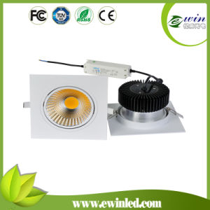 40W COB Square LED Down Light with CE RoHS pictures & photos
