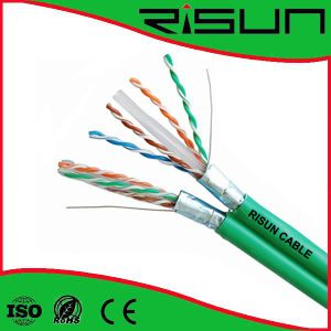 FTP Cat 6 Solid Cable/Copper Cable/Shield Cable pictures & photos