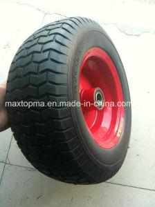 Metal Rim16X6.50-8 Factory Wheel Barrow PU Foam Wheel pictures & photos