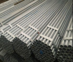 ERW Hot Dipped Galvanized Round Steel Pipe/Galvanized Pipe/Steel Tube pictures & photos