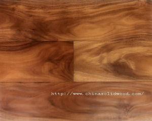 Handscraped Antislip and Waterproof Acacia Wood Flooring (Sw-8726)