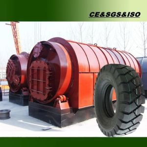 No Pollution Waste Rubber Plastic Tyre Recycling Line