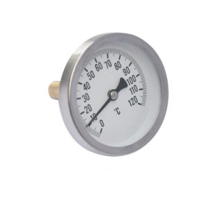 Temperature Gauge with Back Connection