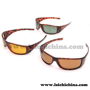 High Quality Tortoise Wrap Frames Fishing Polarized Sunglasses pictures & photos