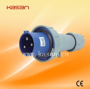 Industrial Low Voltage Quick Connecting Devices IP67 3p+E 380V 16A Plug Socket pictures & photos