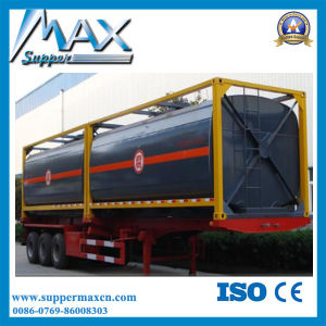 40FT ISO Oil Tank Container 40FT Liquid Chemical/Fuel Tank Container pictures & photos