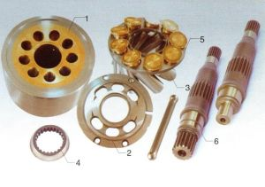 Fmv Hydraulic Travel Motor Parts pictures & photos