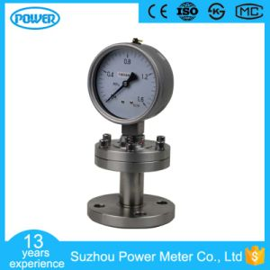4′′ 100mm Thread Type Oil Filled Sanitary Diaphragm Pressure Gauge pictures & photos