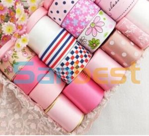 Polyester Printing Satin Ribbon for Festival Decoration pictures & photos