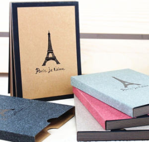 "Eco-Friendly Kraft Paper 6"" X 8"" Photo Albums pictures & photos"