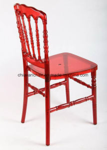Clear Red Polycarbonate Resin Napoleon Wedding Chairs pictures & photos