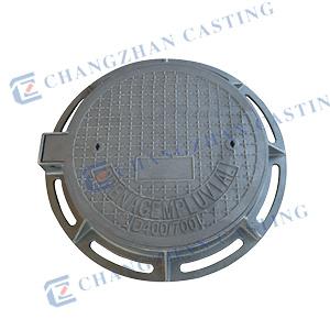 Round Ductile Iron Manhole Cover En124 pictures & photos
