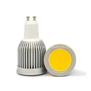 Die Casting Al 85-265V AC COB GU10 7W 5W LED Bulb Light Lamp pictures & photos