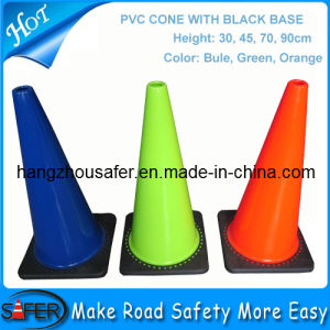 PVC Reflective Traffic Cone/Reflective PVC Cone/PVC Road Safety Cone pictures & photos