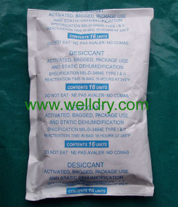 16unit Activated Clay Desiccant in Tyvek Bag, Meet Mil-D3464e, Environment Friendly pictures & photos