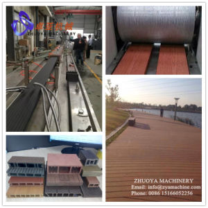 Outdoor PP/PE WPC Profile Production Line/Machine for Decking/Flooring/Fencing/Pillar pictures & photos