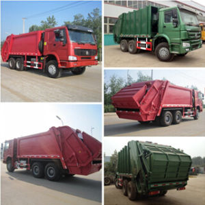 Durable Sinotruk HOWO 10-18m3 Hydraulic Garbage Compactor Truck 6X4 10 Wheels Waste Collector Truck