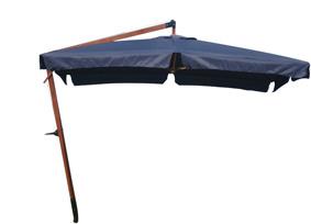 3 * 3m Wooden Garden Umbrella (BR-GU-17) pictures & photos