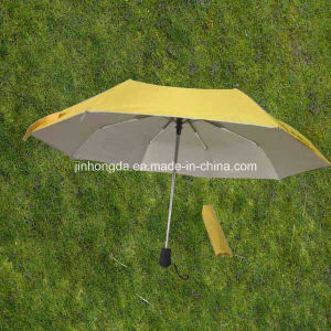 "UV Protection 21""X8k Durable 3 Fold or Folding Umbrella (YS3F0002) pictures & photos"