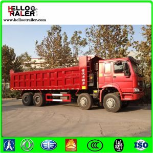 Mining Sinotruck Dump Truck with Steel Wire Tyre / 30 Ton Dump Truck pictures & photos