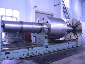 SAE4340 AISI4140 Steel Motor Shaft Forging pictures & photos