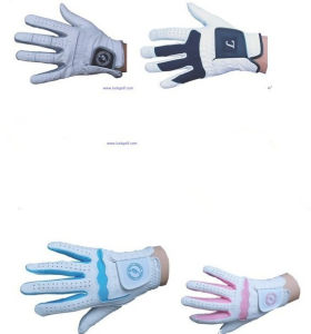 High Quality Custom Cotton Knitted Golf Gloves pictures & photos