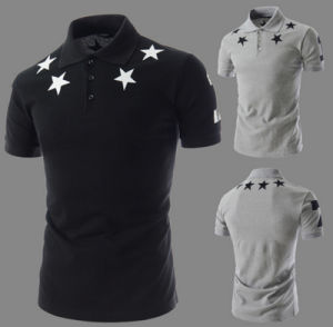 Fashion Hot Sale Jersey Cotton Screen Printing Casual Men′s Polo Shirt pictures & photos