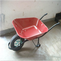 Heavy Duty Wheelbarrow with Strong Support Leg pictures & photos