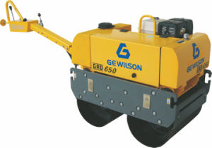 Double Drum Walk Behind Vibratory Roller pictures & photos