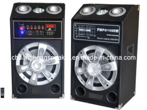 Big Power Professional Stage Speaker with Acoustic Control Laser Light on The Top (DJ-2835)