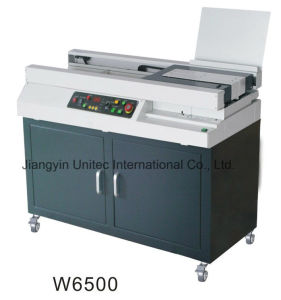 A3 Soft Cover Binder/ Automatic Book Binding Machineperfect Binder W6500