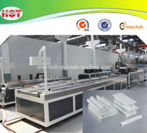 Plastic Window Sliding Frame/Fixing Frame/Glass Bead Profiles Extruder/Making Machines pictures & photos