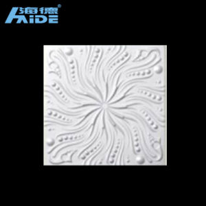 Factory Supply Decorative Embossing Paintable Ceiling Tile pictures & photos