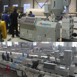 HDPE Pipe Making Machine Water Pipe Extrusion Line pictures & photos