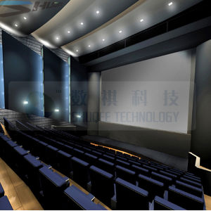 Luxury Design for Large 3D 4D Cinema, 4D Theater with Large Screen, Motion Chair, Whole 4D System for Commercial Cinema Entertainment (SQL-205)