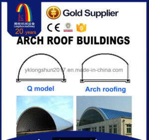 Arch Building Machine Standing Seam Roof Panel Roll Forming Machine pictures & photos