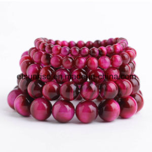 Red Tiger Eye Beaded Bracelet pictures & photos