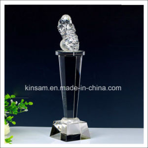 K9 Crystal Trophy Craft for Souvenir Gift pictures & photos